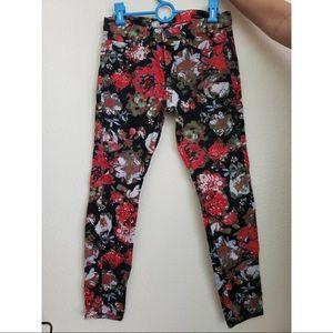 BDG floral jeans